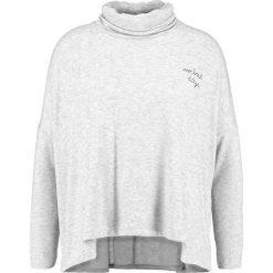 Swetry klasyczne damskie: Sundry TURTLENECK NO BAD DAYS Sweter grey