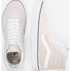 Vans SK8 Tenisówki i Trampki wysokie silver lining/true white. Szare tenisówki damskie marki Vans, z materiału. W wyprzedaży za 341,10 zł.