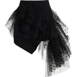 Spódniczki trapezowe: Miss Sixty HASHIM SKIRT Spódnica trapezowa black