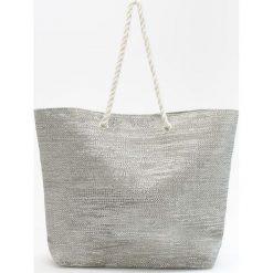 Duża torba na plażę - Jasny szar. Szare torby plażowe marki Reserved, duże. Za 49,99 zł.