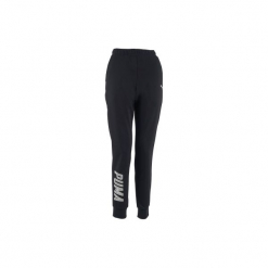 Spodnie dresowe Gym & Pilates 100 damskie. Czarne bryczesy damskie marki KIPSTA, l, z bawełny, na fitness i siłownię. Za 149,99 zł.