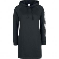 Vans Funday Hoodie Dress Bluza z kapturem damska czarny. Czarne bluzy rozpinane damskie Vans, l, z nadrukiem, z kapturem. Za 284,90 zł.