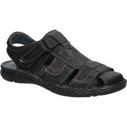 Sandały skórzane Windssor 506. Czarne sandały męskie Windssor. Za 139,99 zł.