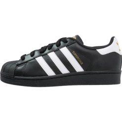 Adidas Originals SUPERSTAR FOUNDATION Tenisówki i Trampki core black/white. Czarne tenisówki męskie marki adidas Originals, z materiału. W wyprzedaży za 223,20 zł.