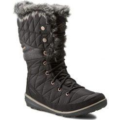 Śniegowce COLUMBIA - Heavenly Omni-Heat BL1661 Black/Kettle 010. Czarne buty zimowe damskie Columbia, z materiału. Za 499,99 zł.