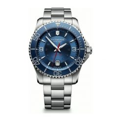 ZEGAREK VICTORINOX SWISS ARMY Maverick 241706. Czarne zegarki męskie marki KALENJI, ze stali. Za 3950,00 zł.