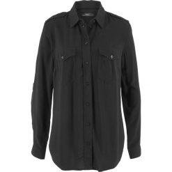 Bluzki damskie: Bluzka koszulowa bonprix czarny