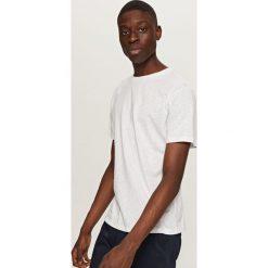 T-shirty męskie: T-shirt z printem all over – Biały