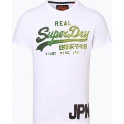 Superdry - T-shirt męski, czarny. Szare t-shirty męskie z nadrukiem marki Superdry, l, z tkaniny, z okrągłym kołnierzem, na ramiączkach. Za 149,95 zł.