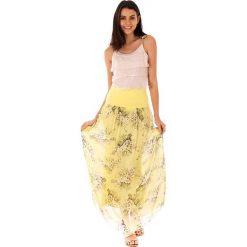 Spódnice wieczorowe: Spódnica w kolorze żółtym