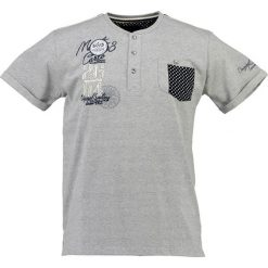 T-shirty męskie: T-shirt w kolorze szarym