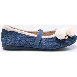 Gioseppo - Baleriny dziecięce Mambi. Niebieskie baleriny dziewczęce Gioseppo, z gumy. W wyprzedaży za 49,90 zł.