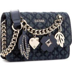 Torebka GUESS - Stassie (DG) Mini-Bag HWDG67 79780 DEN. Niebieskie listonoszki damskie Guess. W wyprzedaży za 259,00 zł.