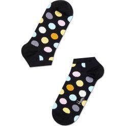 Happy Socks - Skarpetki LOW SOCKS. Czarne skarpetki damskie Happy Socks, w grochy, z bawełny. Za 29,90 zł.