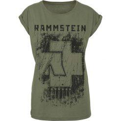Rammstein 6 Herzen Koszulka damska oliwkowy. Zielone bralety Rammstein, xl. Za 99,90 zł.