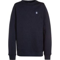Volcom SINGLE STONE CREW Bluza navy. Niebieskie bluzy chłopięce marki Volcom, z bawełny. W wyprzedaży za 151,20 zł.