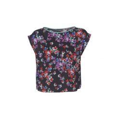Bluzki Emporio Armani  MORI. Szare bluzki damskie marki Emporio Armani, l, z nadrukiem, z bawełny, z okrągłym kołnierzem. Za 847,20 zł.
