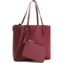 Torebka JENNY FAIRY - RC15258 Burgundy. Czerwone torebki klasyczne damskie Jenny Fairy, ze skóry ekologicznej. Za 119,99 zł.