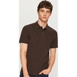 Koszulka polo - Brązowy. Niebieskie koszulki polo marki Reserved. Za 49,99 zł.