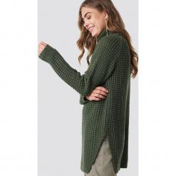 Rut&Circle Sweter z golfem Samira - Green. Zielone golfy damskie Rut&Circle, z długim rękawem. Za 161,95 zł.