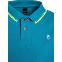Replay Koszulka polo blue. Zielone bluzki dziewczęce bawełniane marki Replay. Za 189,00 zł.