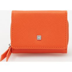 Portfele damskie: Mały portfel – Pomarańczo