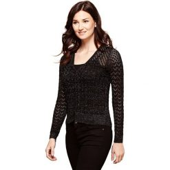 Swetry damskie: Kardigan z okrągłym dekoltem