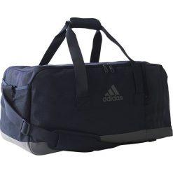 Torby podróżne: Adidas Torba sportowa adidas 3 Stripes Perfomance Teambag M granatowa (BR5148)
