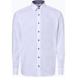 Koszule męskie na spinki: Eterna Modern Fit - Koszula męska niewymagająca prasowania, czarny