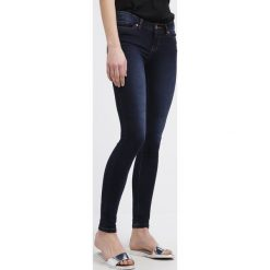Rurki damskie: Noisy May EVE Jeansy Slim Fit dark blue denim