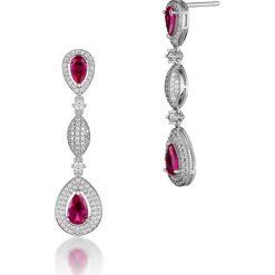 Biżuteria i zegarki: RABAT Kolczyki – mosiądz, Cyrkonia