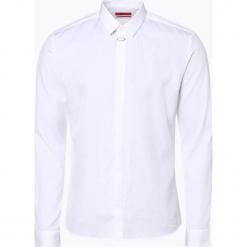 HUGO - Koszula męska – Ero3, czarny. Niebieskie koszule męskie marki HUGO, m, z bawełny. Za 429,95 zł.