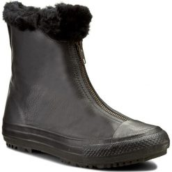 Buty damskie: Botki CONVERSE - Ctas Boot Shroud Leather+Fur X 553350C  Black/Black/Black