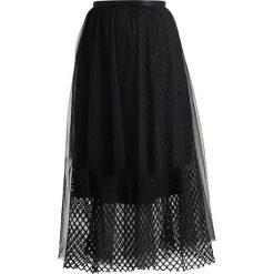 Spódniczki trapezowe: Navy London EVELYN Spódnica trapezowa black