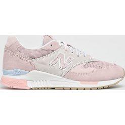New Balance - Buty WL840RTP. Szare buty sportowe damskie New Balance, z gumy. W wyprzedaży za 429,90 zł.