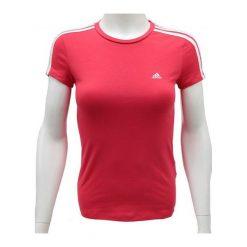 Adidas Koszulka damska Ess 3 S Tee czerwona r. 2XS. Czerwone bluzki damskie Adidas, s. Za 63,49 zł.