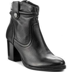 Botki LASOCKI - 70200-07 Czarny. Czarne buty zimowe damskie Lasocki, ze skóry. Za 279,99 zł.
