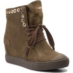 Sneakersy CARINII - B4359 I43-000-000-B88. Zielone botki damskie skórzane Carinii. W wyprzedaży za 269,00 zł.