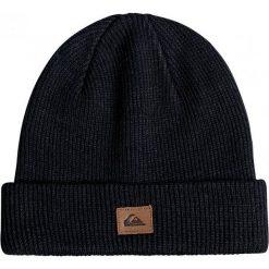 Quiksilver Czapka Zimowa Performed Black. Czarne czapki zimowe męskie Quiksilver, na zimę, sportowe. W wyprzedaży za 59,00 zł.