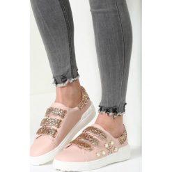 Różowe Buty Sportowe My Sweet Sunshine. Szare buty sportowe damskie marki other, z materiału. Za 79,99 zł.