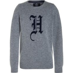 Swetry chłopięce: Hackett London CREW Sweter grey