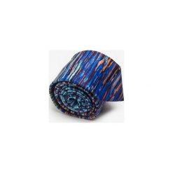 KRAWAT JULIA PIEKIEŁKO. Fioletowe krawaty męskie marki Marthu, w kolorowe wzory, z satyny. Za 129,00 zł.