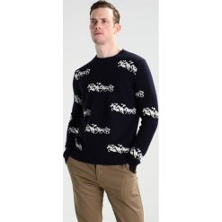 Swetry klasyczne męskie: Editions MR HORSE Sweter off white/night