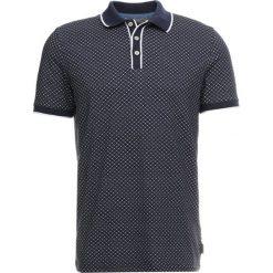 Ted Baker MARSMAL GEO  Koszulka polo navy. Niebieskie koszulki polo Ted Baker, m, z bawełny. Za 379,00 zł.