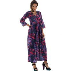 Odzież damska: Sukienka w kolorze fioletowo-różowym