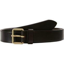 CLOSED Pasek dark brown. Brązowe paski męskie CLOSED, w paski, z materiału, klasyczne. Za 419,00 zł.