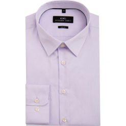 Koszula SIMONE SLIM KDFS000002. Białe koszule męskie na spinki marki bonprix, z klasycznym kołnierzykiem. Za 199,00 zł.