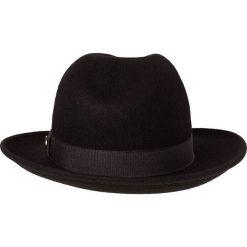 Menil BOLOGNA Kapelusz black. Czarne kapelusze męskie Menil, z materiału. W wyprzedaży za 263,20 zł.