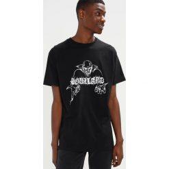 Soulland NORGAARD Tshirt z nadrukiem black. Czarne t-shirty męskie z nadrukiem Soulland, l, z bawełny. Za 249,00 zł.