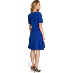 FAITH Sukienka - chabrowa. Niebieskie sukienki mini Moe, z krótkim rękawem. Za 139,00 zł.